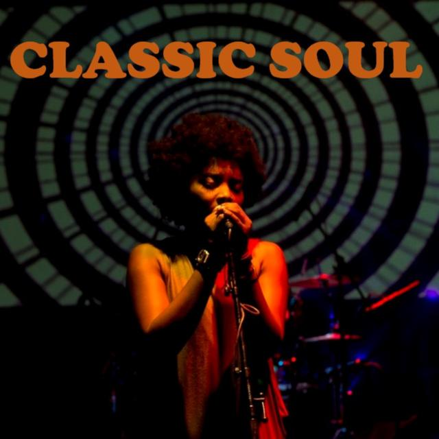 Album cover for Classic Soul by Various Artists