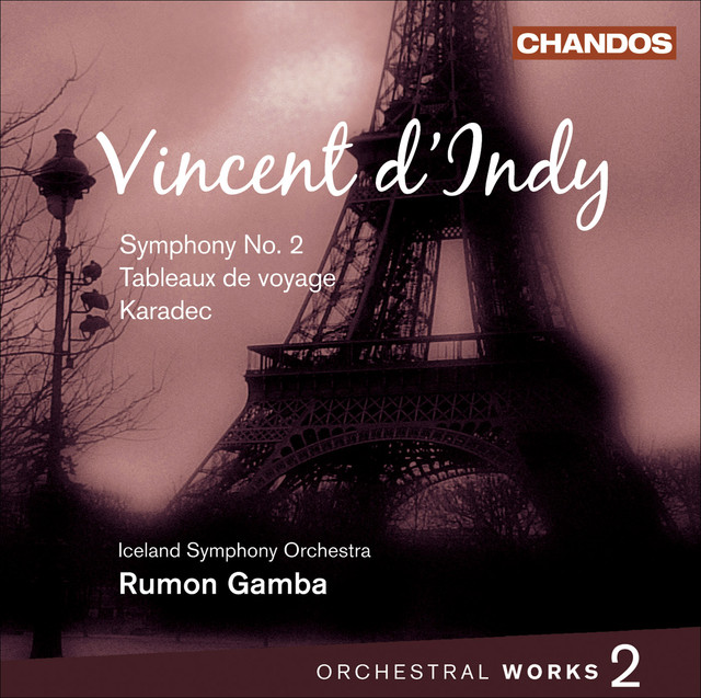 Vincent dindy orchestral works vol 6