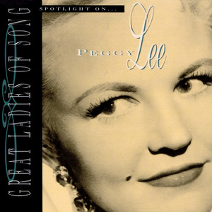 Peggy Lee The Best Is Yet To Come - 2001 Digital Remaster cover