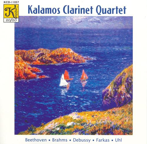Kalamos Clarinet Quartet: Works for Clarinet Quartet Albumcover