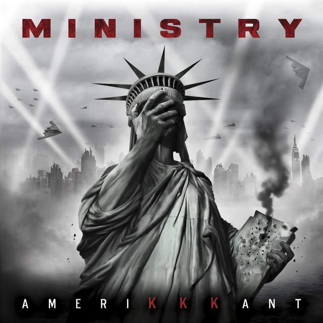 Album cover for AmeriKKKant by Ministry