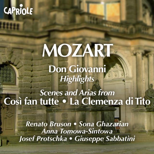 Mozart: Opera Highlights Albumcover
