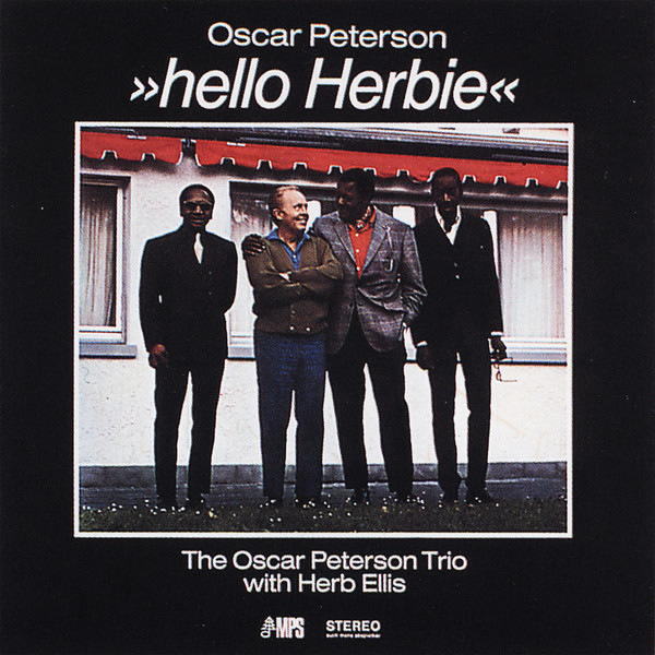 Oscar Peterson Hello Herbie album cover