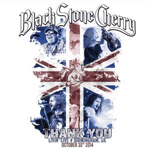 Black Stone Cherry Thank You: Livin' Live, Birmingham UK October 30, 2014 album