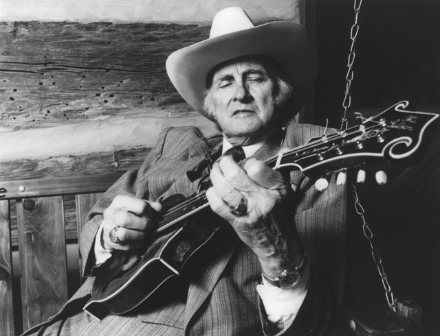 Bill Monroe, Bill Monroe and The Bluegrass Boys Little Cabin Home on the Hill cover
