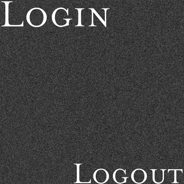 Album cover for Logout by Login