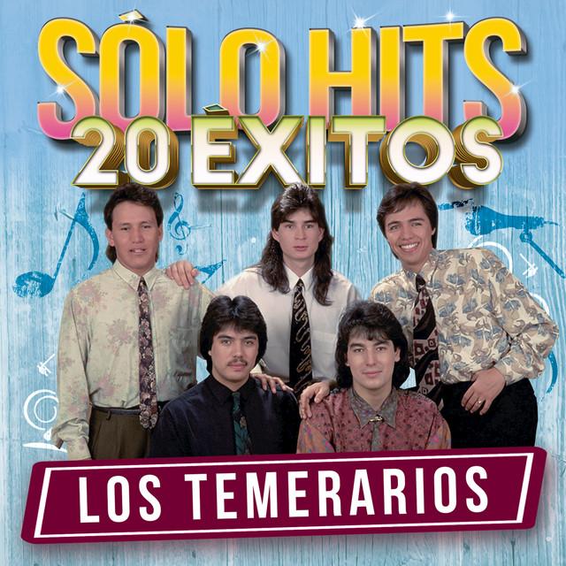 Album cover for Sólo Hits (20 Éxitos) by Los Temerarios