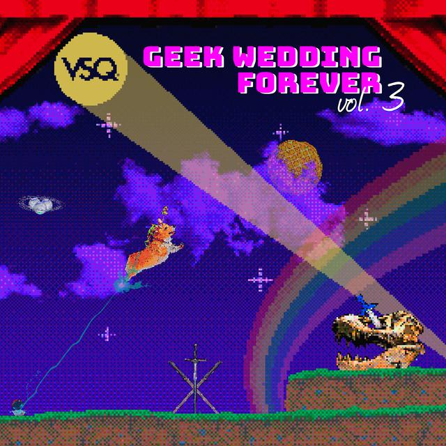 Album cover for Geek Wedding Forever, Vol. 3 by Vitamin String Quartet