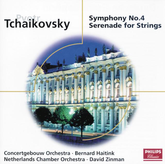 Tchaikovsky: Symphony No. 4; Serenade for Strings Albumcover