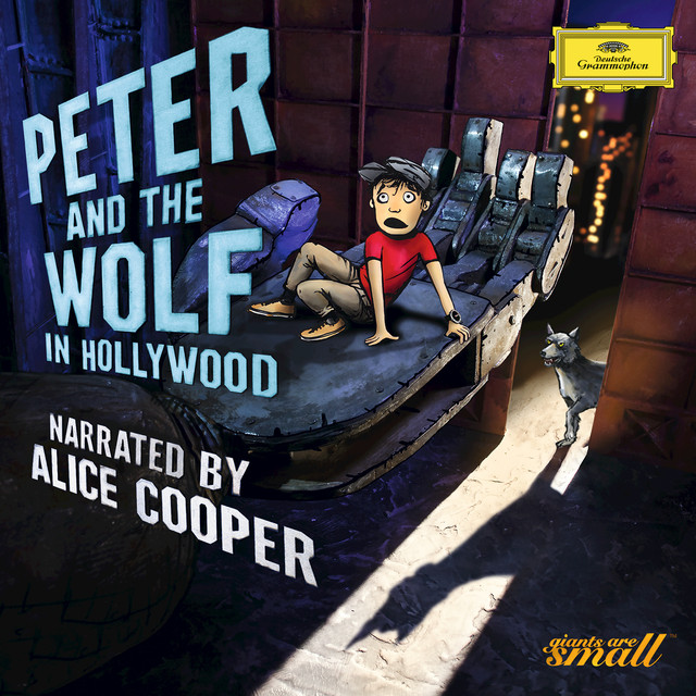 Sergei Prokofiev, Alice Cooper, Bundesjugendorchester, Alexander Shelley Peter And The Wolf In Hollywood album cover