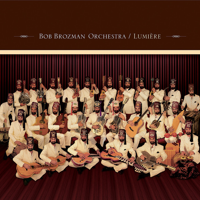Bob Brozman Lumière album cover