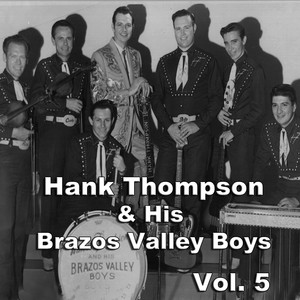 Hank Thompson & His Brazos Valley Boys Three Times Seven cover