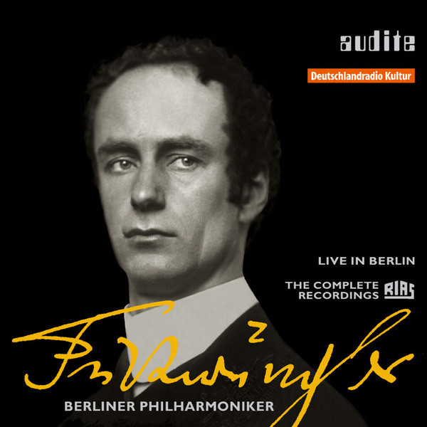 Edition Wilhelm Furtwängler (The Complete RIAS Recordings between 1947 and 1954 from Berlin) Albumcover