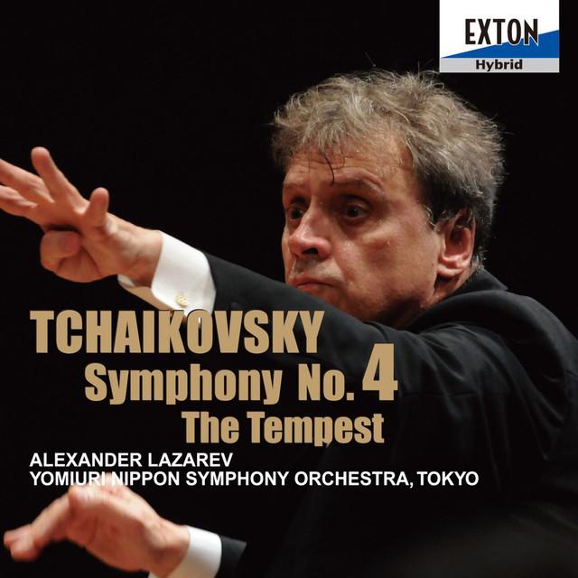 Tchaikovsky: Symphony No. 4 & The Tempest Albumcover