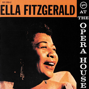 Ella Fitzgerald At The Opera House Albumcover