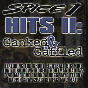 Spice 1, Redman, MC Eiht Nuthin' But the Gangsta cover