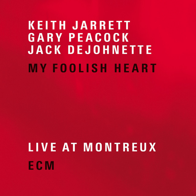Skivomslag för Keith Jarrett: My Foolish Heart