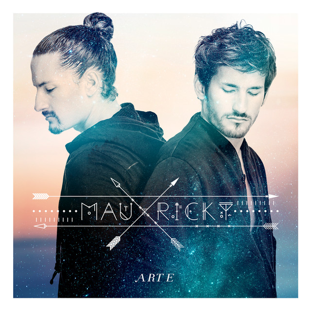 Album cover for Arte by Mau y Ricky
