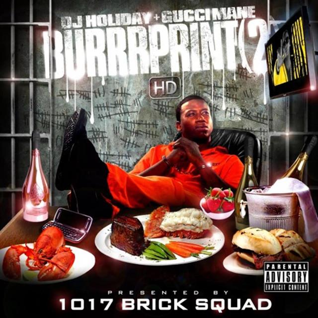 The Burrprint 2 Albumcover