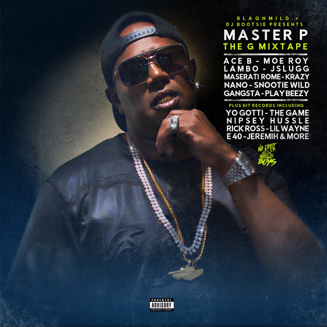 Album cover for The G Mixtape by Master P