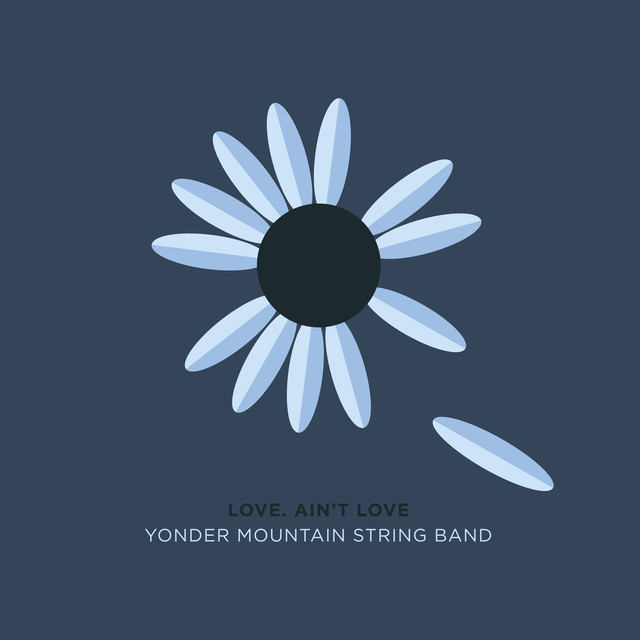 Album cover for Love. Ain't Love by Yonder Mountain String Band