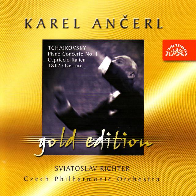 Ančerl Gold Edition 20 Tchaikovsky: Piano Concerto No.1 in B flat minor, Capriccio Italien, 1812 Overture Albumcover