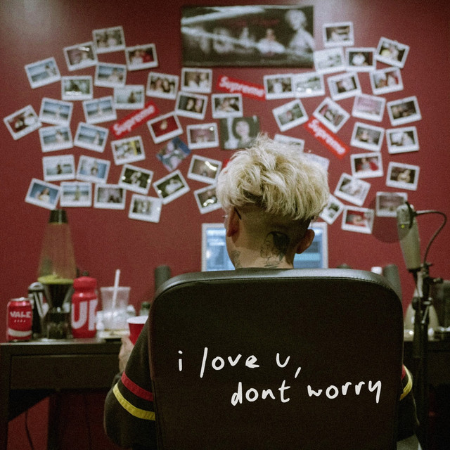 Album cover for I Love U, Don't Worry by Pryde