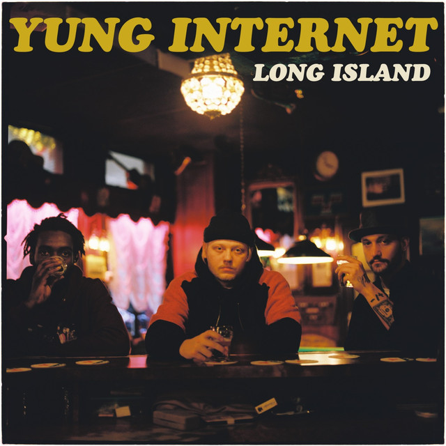 Album cover for Long Island by Yung Internet
