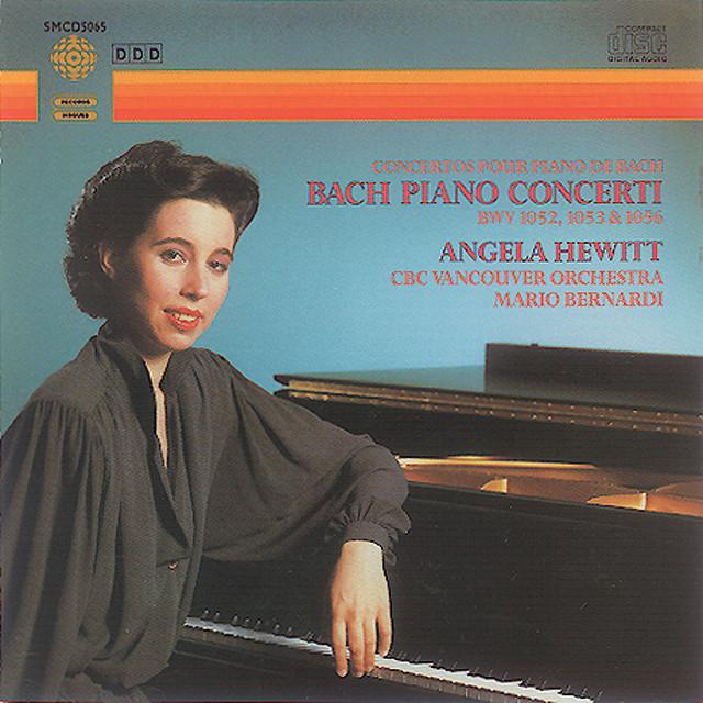 Bach, J.S.: Piano Concerti Bwv 1052, 1053 & 1056 Albumcover