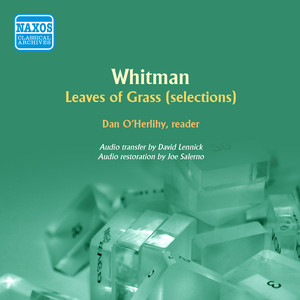 Whitman: Selections from Leaves of Grass Audiobook