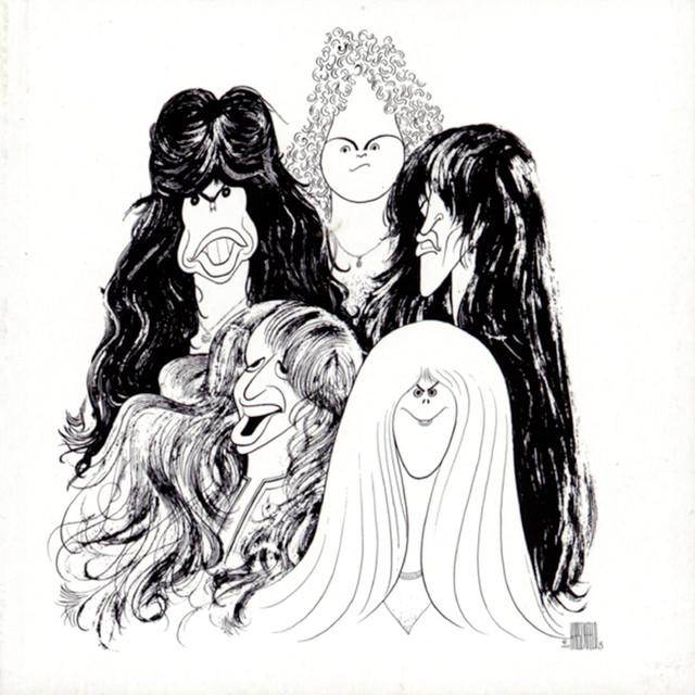 Aerosmith Draw the Line album cover
