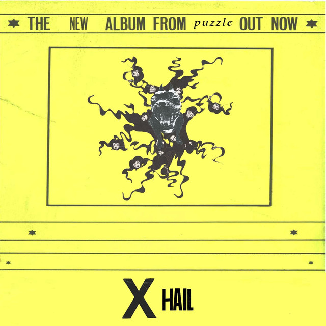 Album cover for X Hail by Puzzle