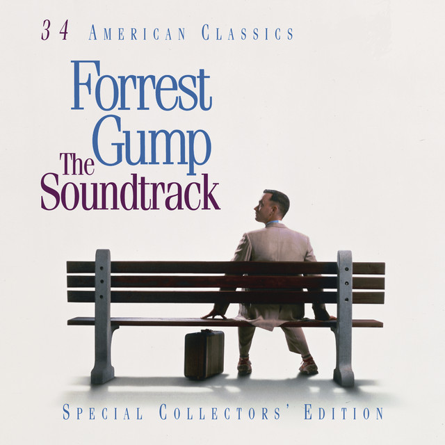 Original Motion Picture Soundtrack Forrest Gump - The Soundtrack album cover