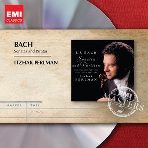 Bach: Solo Sonatas and Partitas Albumcover