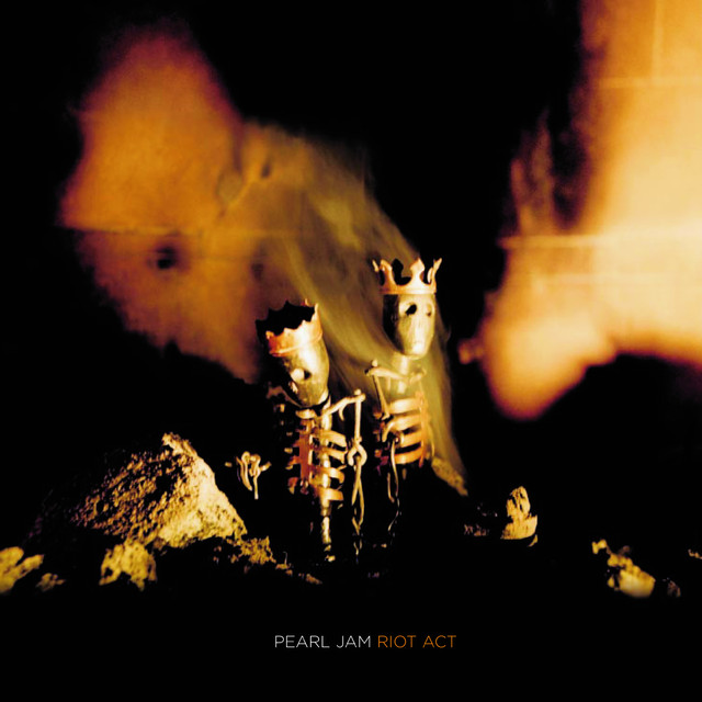 Album cover for Riot Act by Pearl Jam