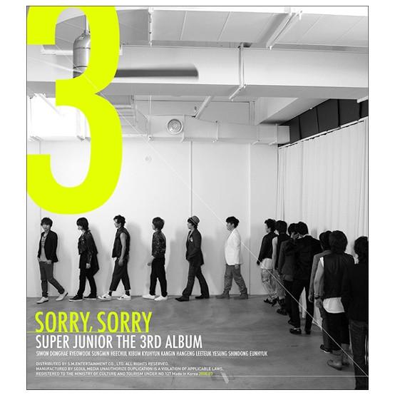 쏘리 쏘리 Sorry, Sorry Albumcover