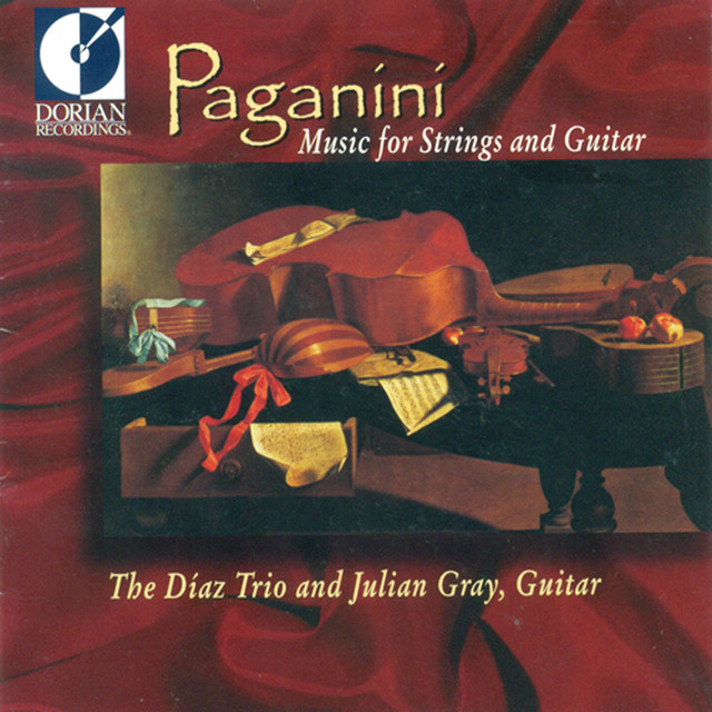 Paganini, N.: Music for String and Guitar Albumcover