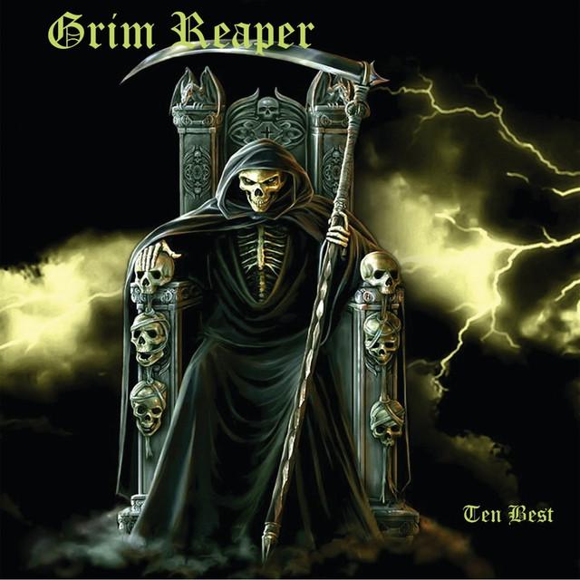 Grim Reaper Ten Best album cover