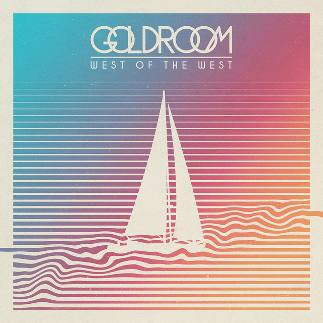 Album cover for West Of The West by Goldroom
