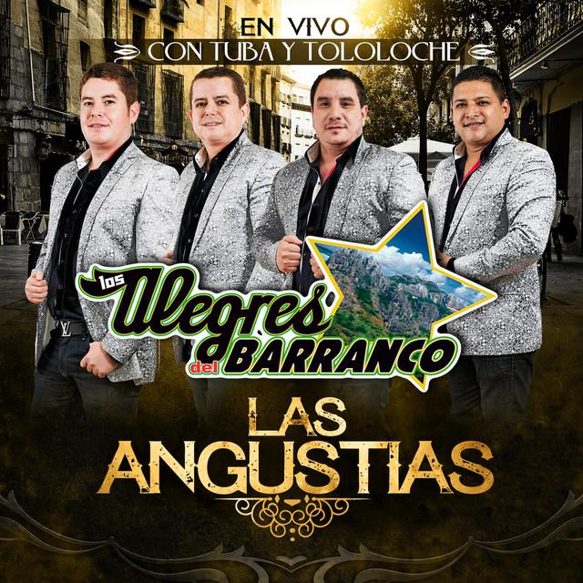 Album cover for Las Angustias by Los Alegres Del Barranco