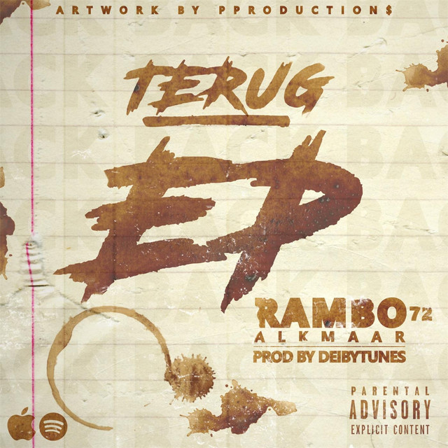 Album cover for Terug - Ep by Rambo Alkmaar