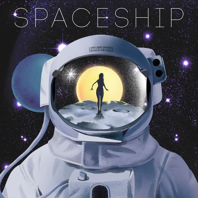 Album cover for Spaceship by Hollaphonic