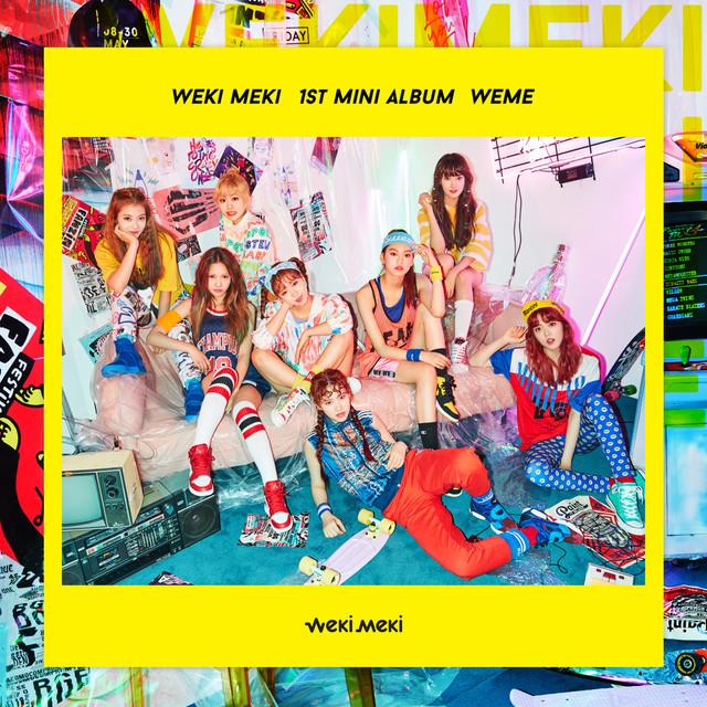Album cover for WEME by Weki Meki