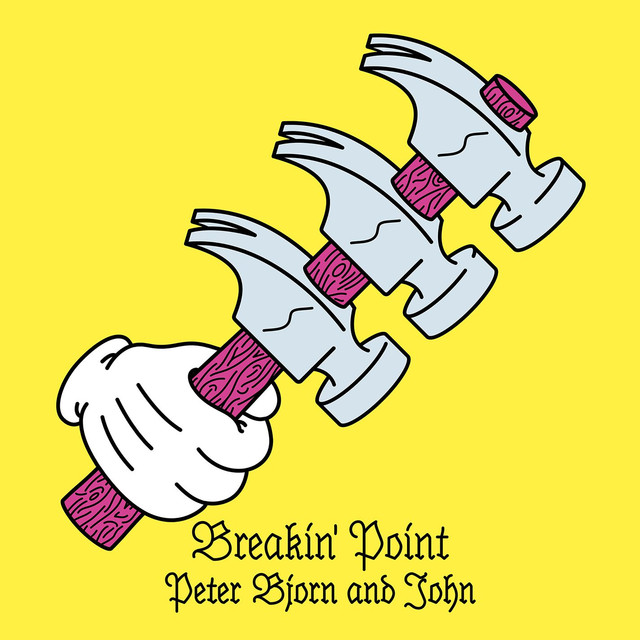 Skivomslag för Peter Bjorn And John: Breakin' Point
