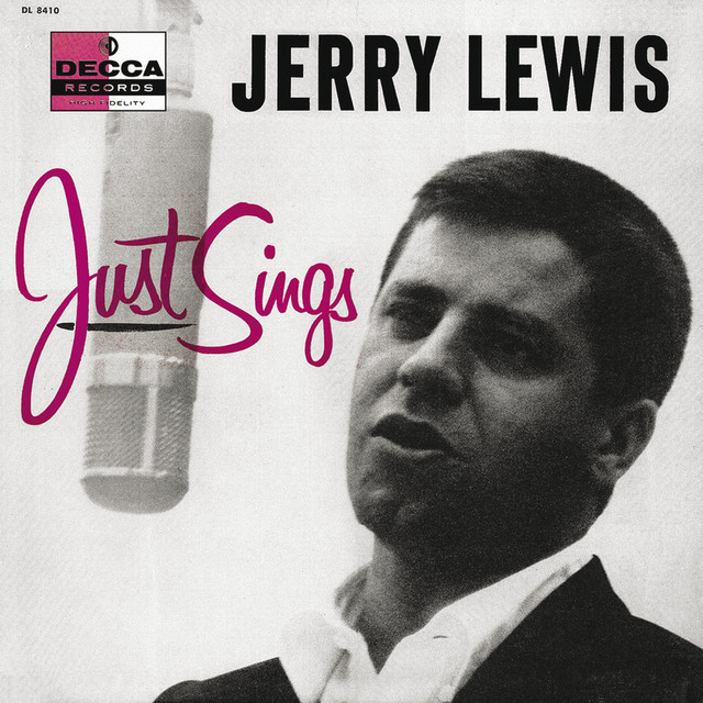 Jerry Lewis Just Sings album cover
