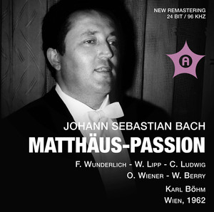 J.S. Bach: St. Matthew Passion (Recorded 1962) Albumcover