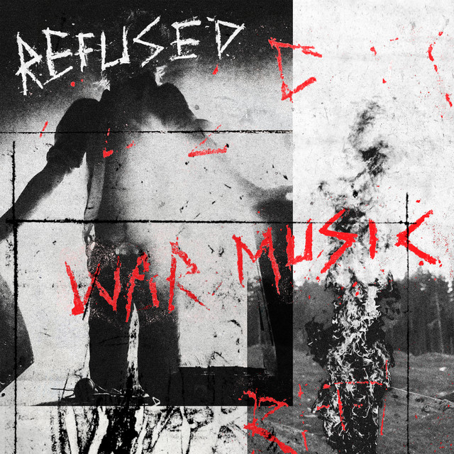 Album cover for War Music by Refused
