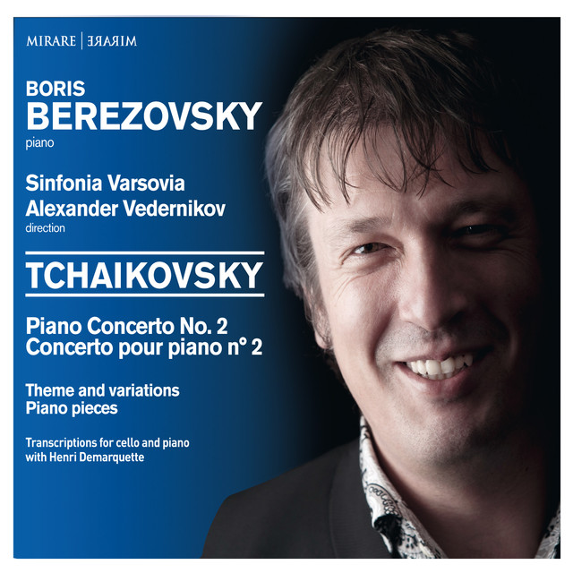 Tchaikovsky - Piano Concerto No. 2 - Theme and variations - Piano pieces Albumcover