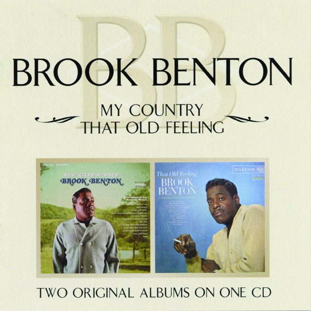 Brook Benton My Country / That Old Feeling album cover