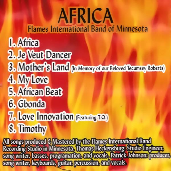 Master P Africa album cover